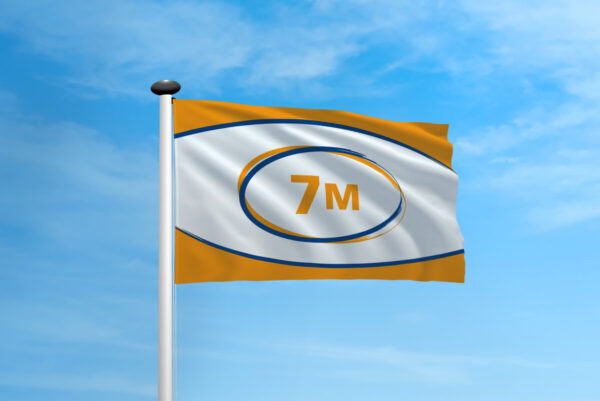 Polyester vlag mast 7 meter