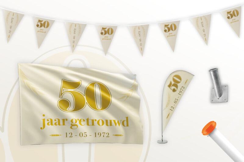 Partypakket 50 jaar getrouwd Large