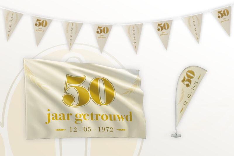 Partypakket 50 jaar getrouwd Medium