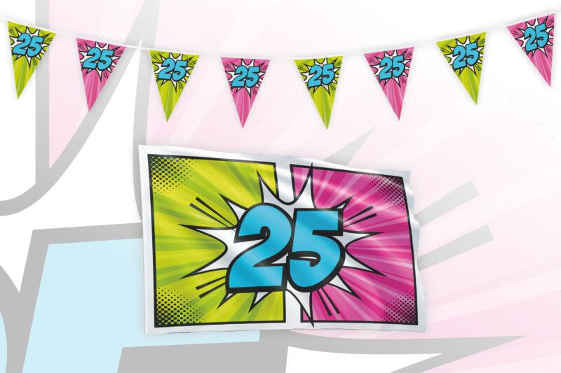 Partypakket 25 jaar Small